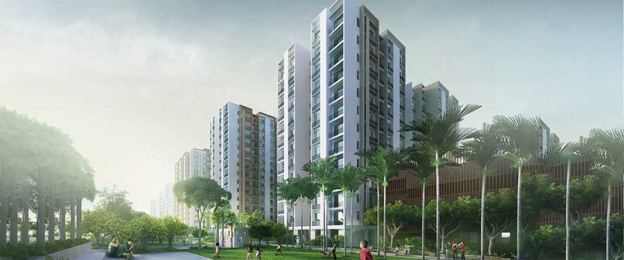 The prices set in Godrej Seven are very reasonable and genuine and vary from Rs. 39 lakhs to Rs. 65 lakhs