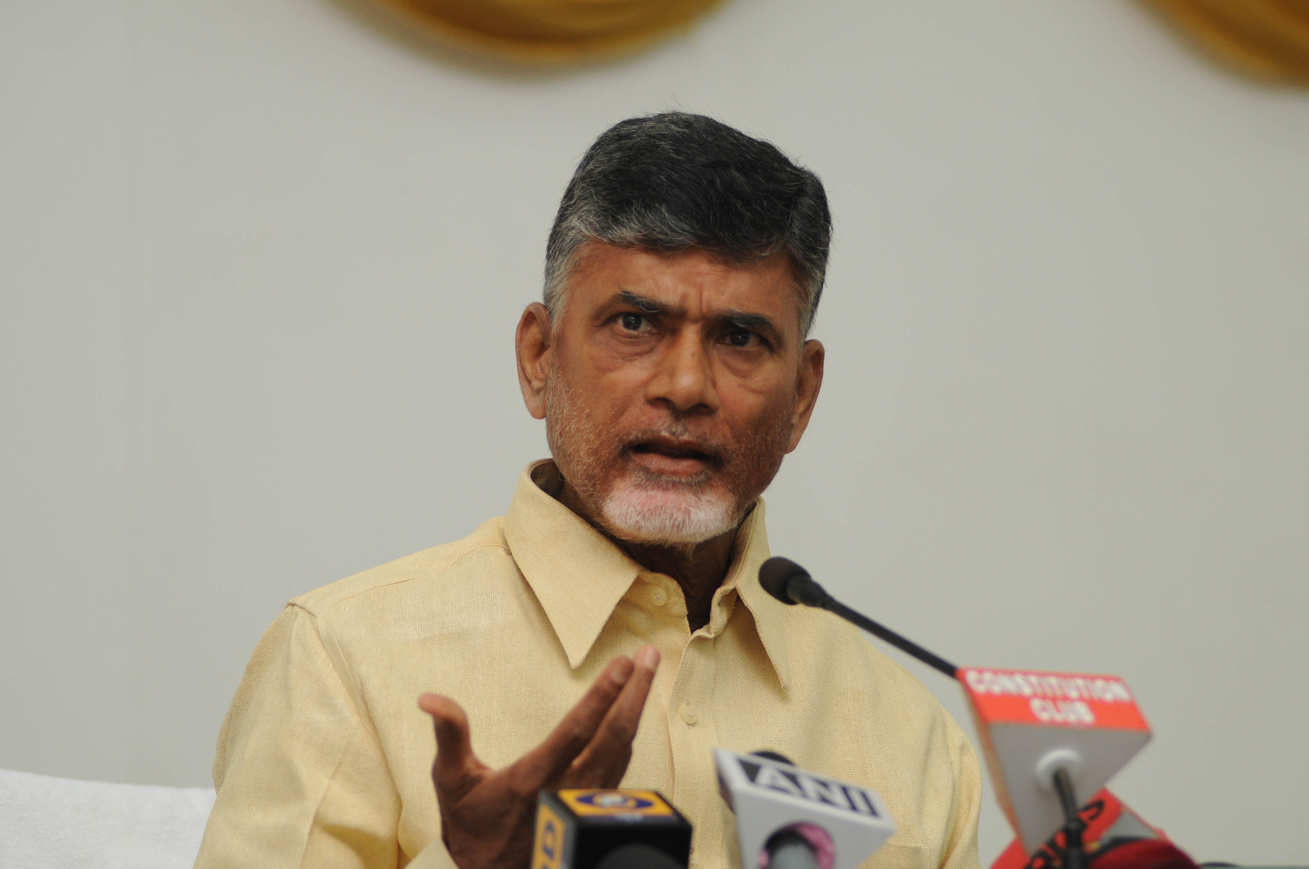 Chandrababu Naidu alleges Centre is threatening to impose President's Rule in Andhra