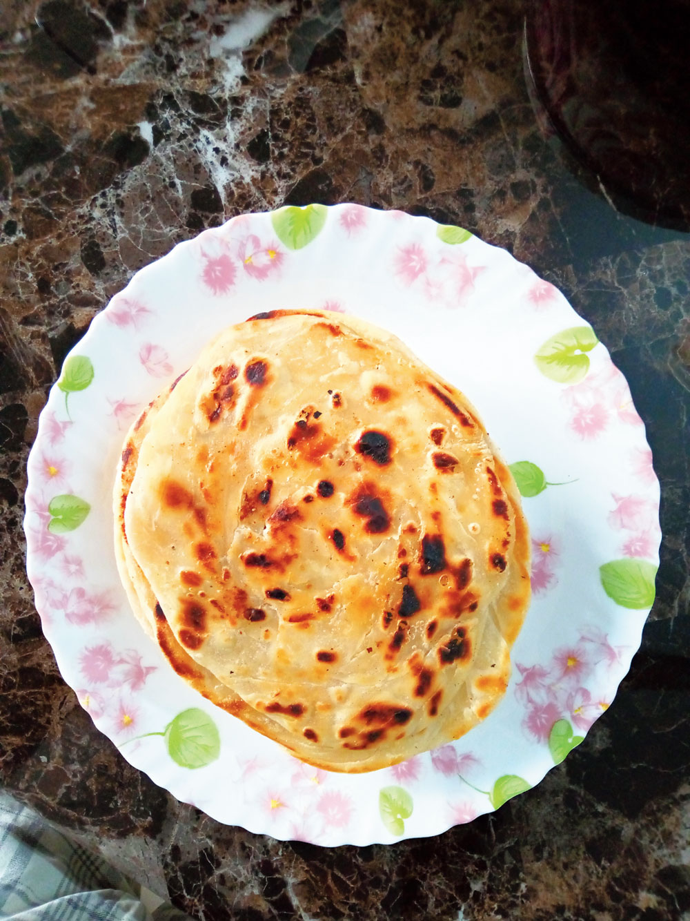 Crispy lacha pratha