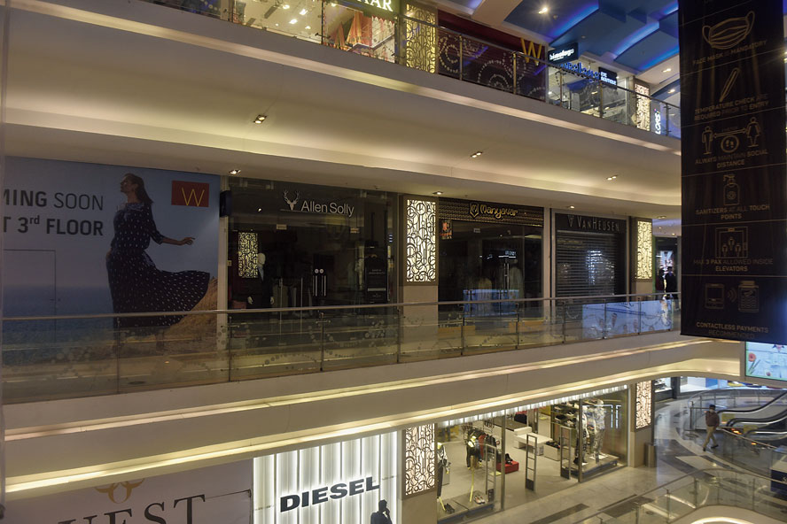 Quest mall on Tuesday