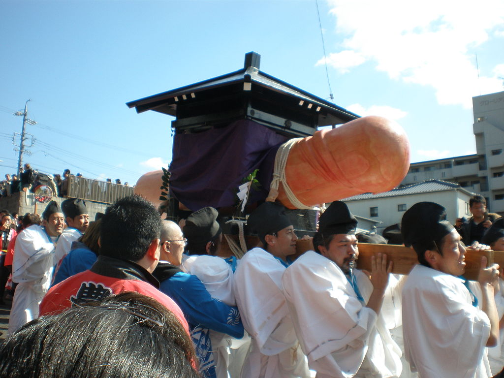 What makes this festival unique is the procession led by a 280-kg wooden phallus representing fertility and ensuring bountiful harvest in the coming months