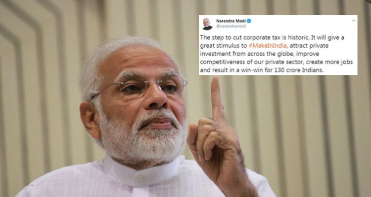 The Narendra Modi government is battling low growth and high unemployment