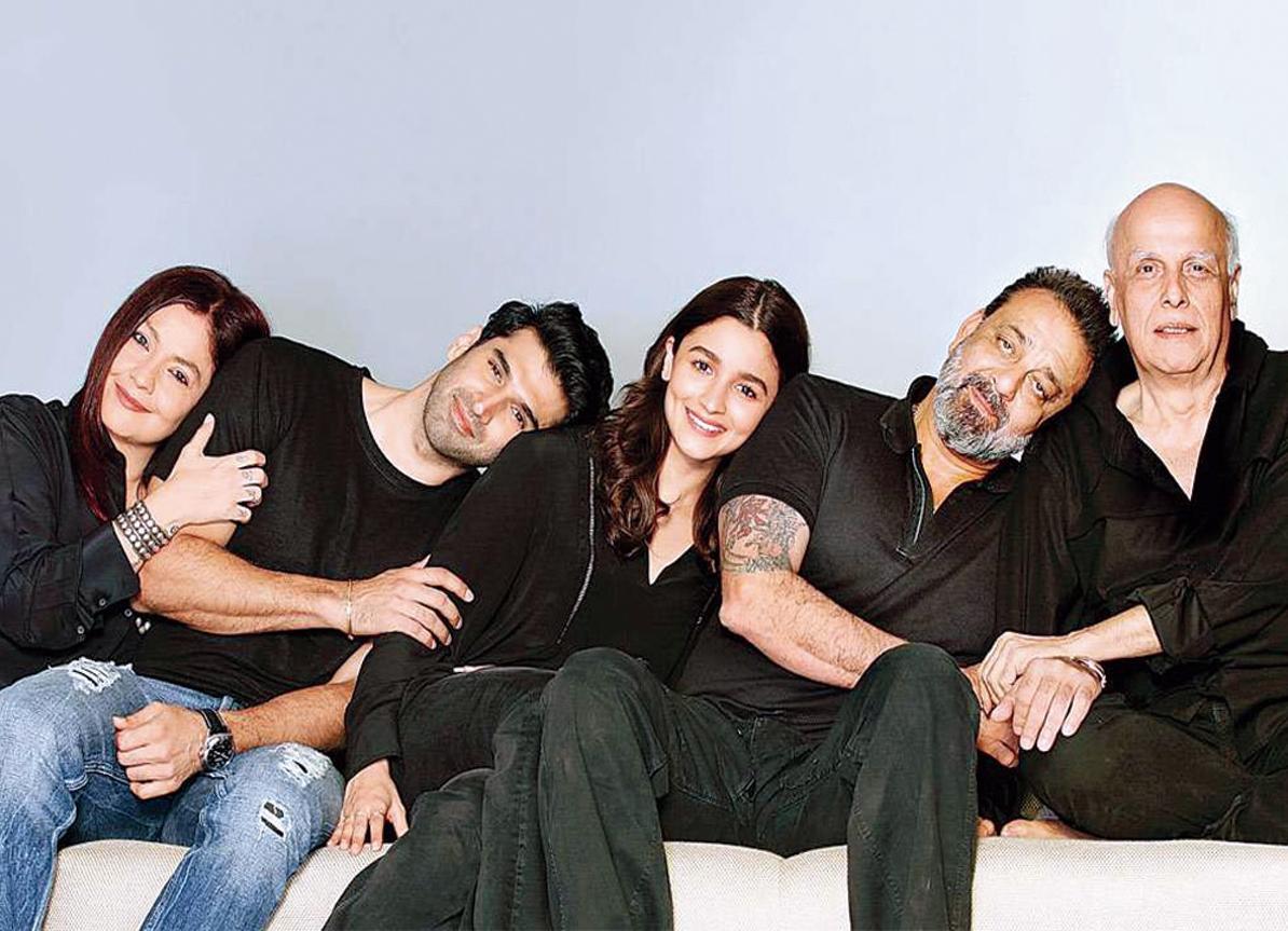 Pooja Bhatt, Aditya Roy Kapur, Alia Bhatt and Sanjay Dutt star in Mahesh Bhatt's Sadak 2
