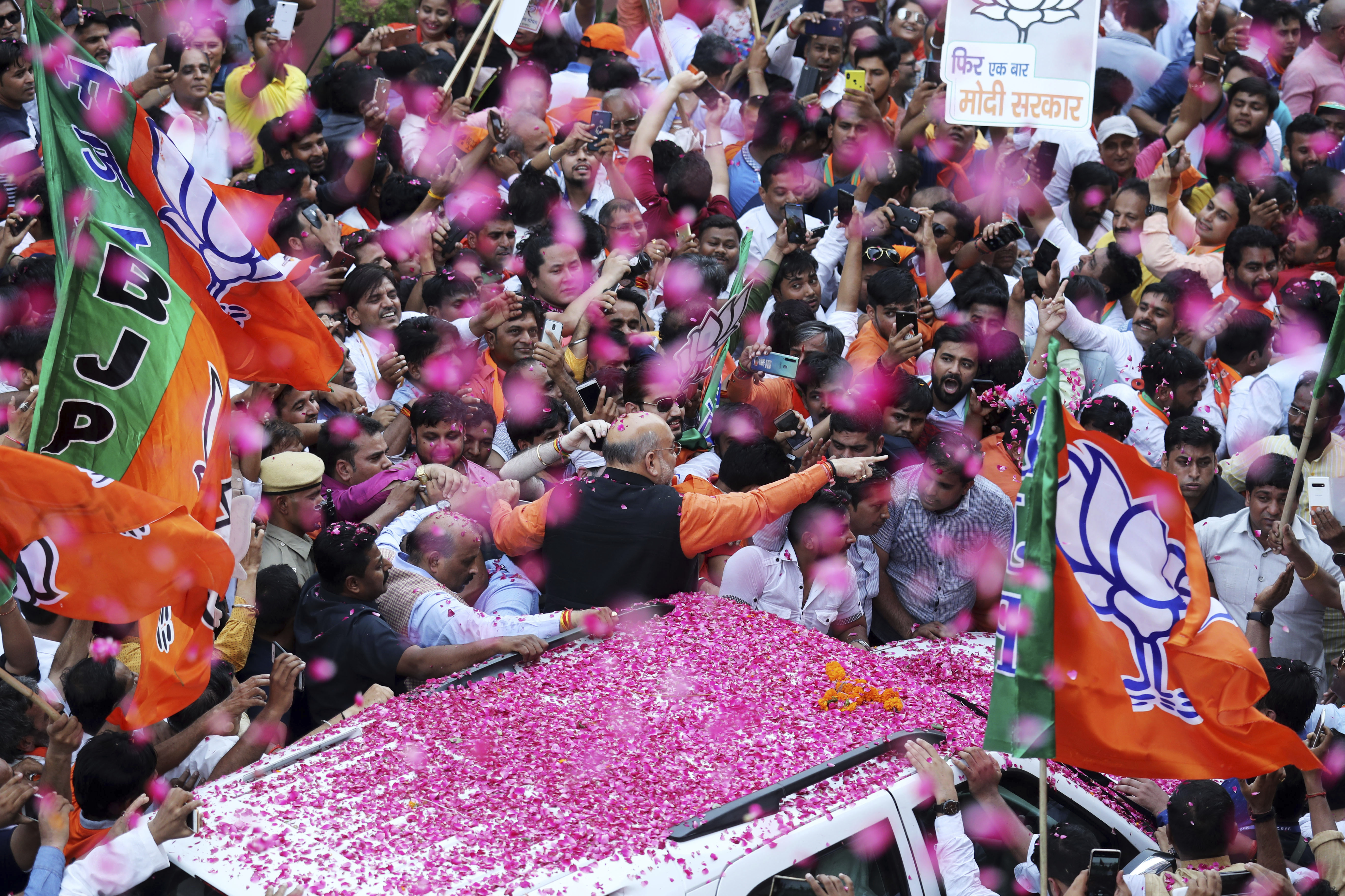 Lok Sabha elections 2019: BJP sweeps seats in at least 13 states