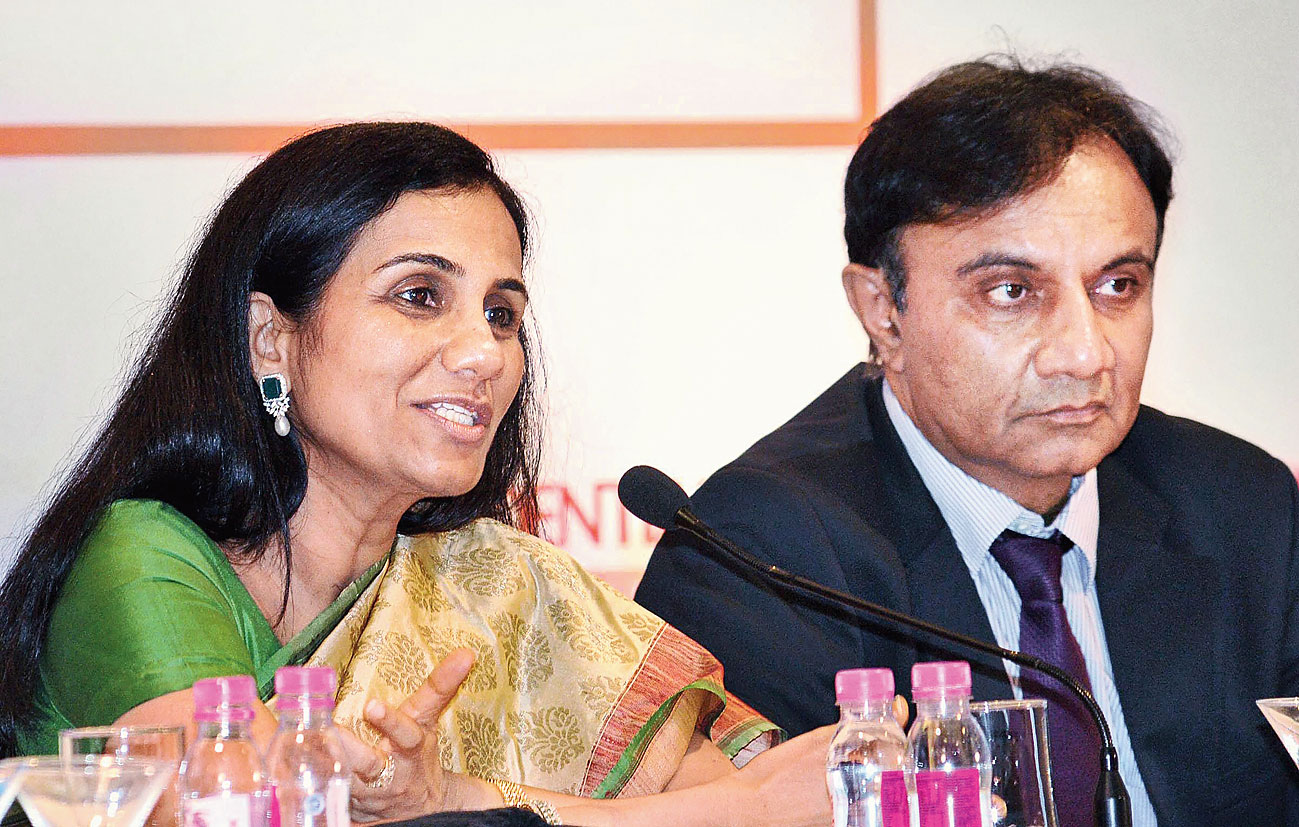 Kochhar with Sandeep Bakhshi.