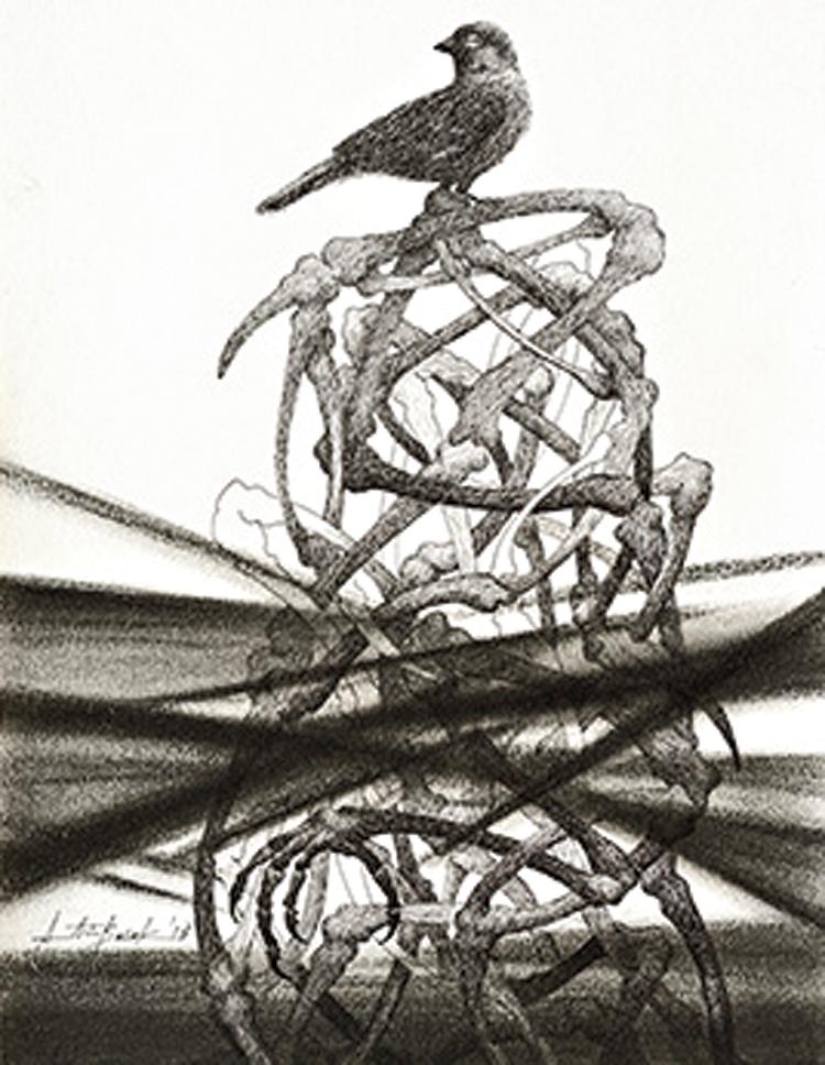 Atin Basak's sketch