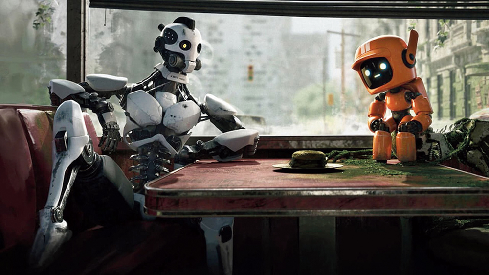 A scene from 'Love, Death + Robots'