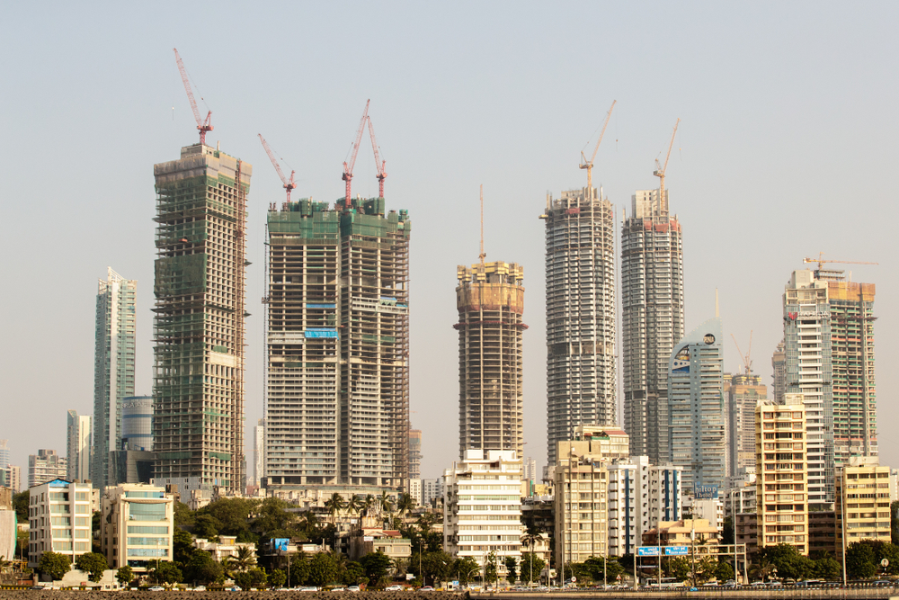 The skyline of India's financial capital, Mumbai (file picture). Niti Aayog CEO Amitabh Kant says that the current economic slowdown is a temporary outcome of economic reforms, and that the animal spirit of investors needs to be revived