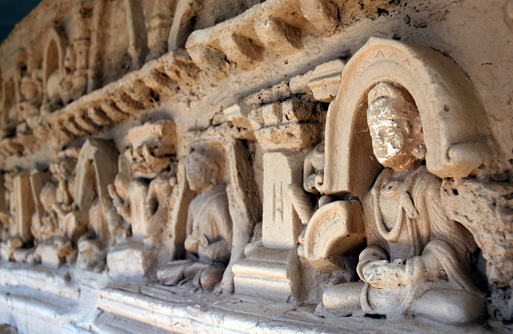 The ancient town of Taxila was rediscovered in 1830, and over the next half-century, Alexander Cunningham unearthed many more Buddhist splendours from the third century BC