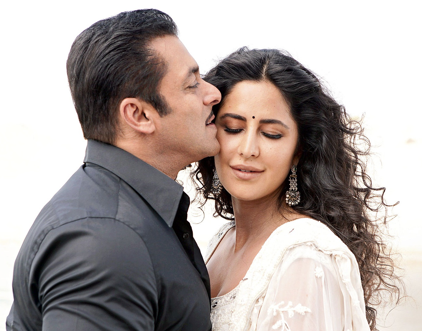 Salman Khan and Katrina Kaif in 'Bharat'