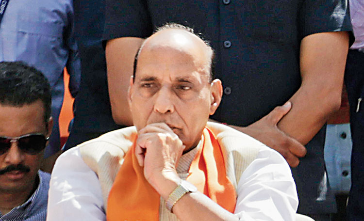 Union home minister Rajnath Singh seems to be getting a lot of importance in the run-up to the general election, as he is being utilized widely by the BJP for campaigning