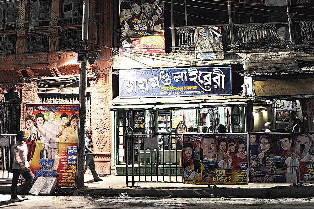 Diamond Library, on Chitpur Road, was set up in 1877 by the Seals and sells jatra texts. The proprietors take visitors through the history of the place for a fee