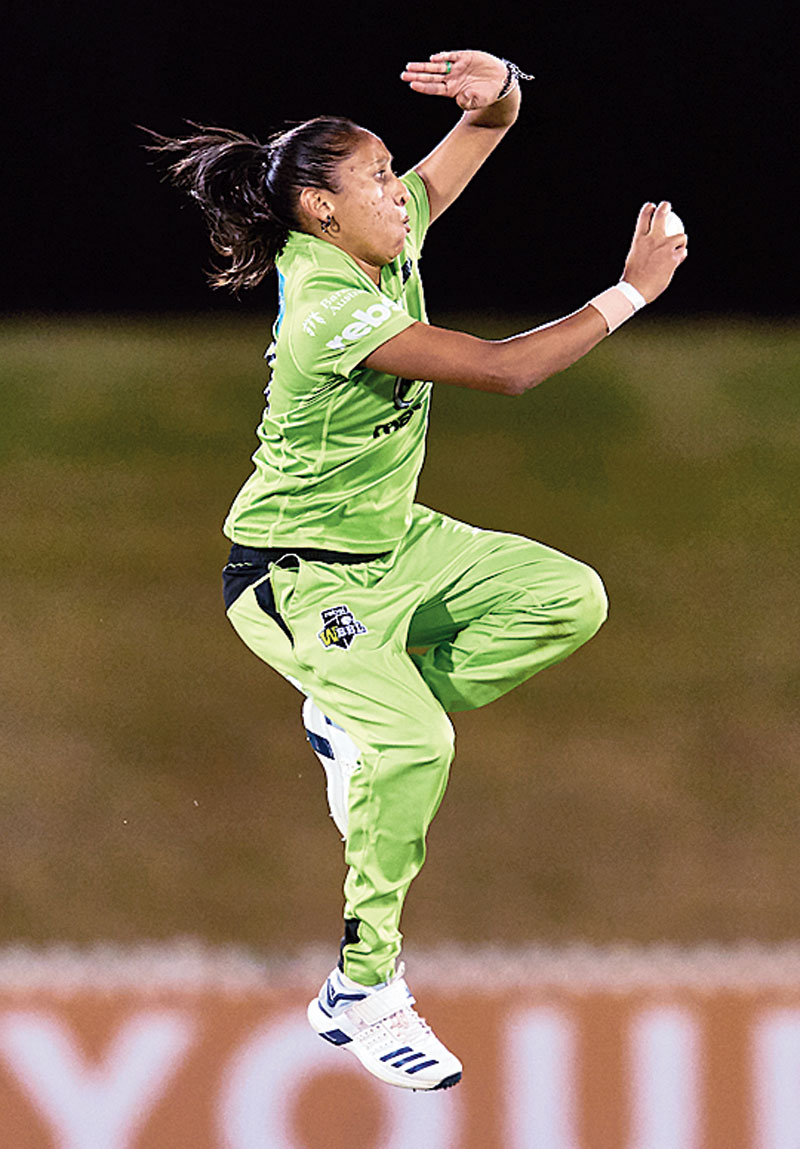 SHABNIM ISMAIL (SOUTH AFRICA): One half of the most dangerous fast bowling pair currently operating in women's cricket, South Africa's Ismail is one of a handful of females who can ratchet up speeds in excess of 80 miles per hour. Having debuted in T20Is in 2007, Ismail has been a permanent fixture in all former editions of the World T20, and at 31, still has plenty of steam left in the tank. As South Africa's all-time leading wicket-taker, the onus would very much be on Ismail to provide quick fire breakthroughs and dovetail with fellow pacer Marizanne Kapp, as an adventurous Proteas team lock their sights on a maiden triumph.