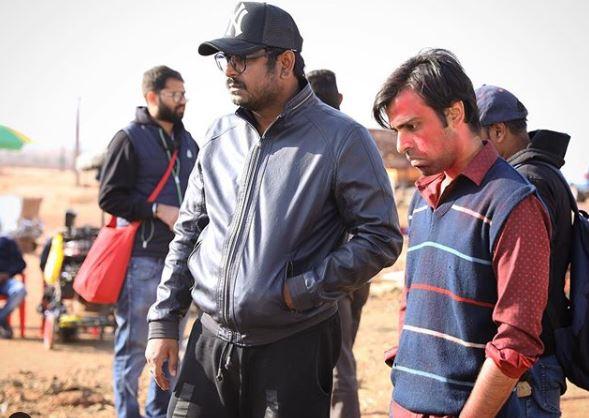 Jeetu Kumar on the sets of 'Chaman Bahaar'.