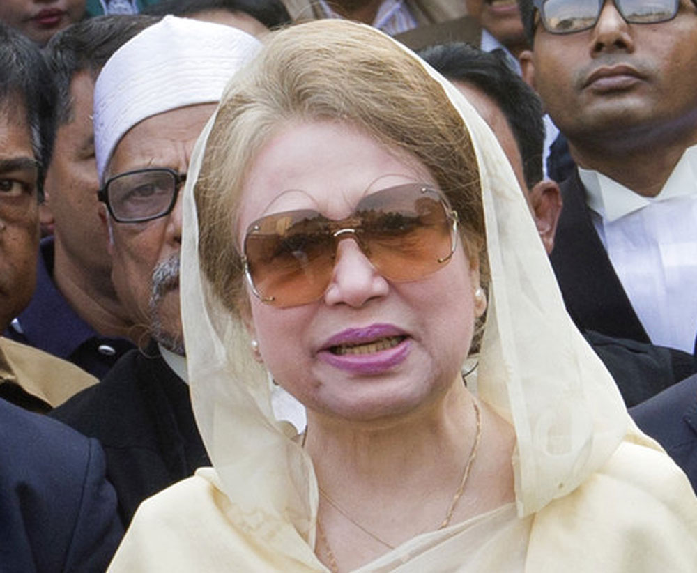 Bangladesh's former Prime Minister Khaleda Zia's demand for a caretaker government has not been met.