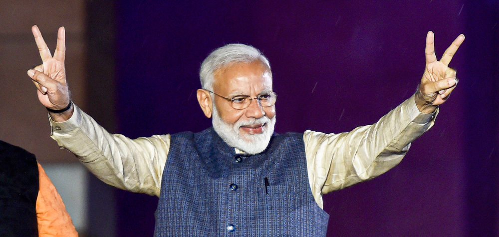 The story of Modi that triumphed the Opposition