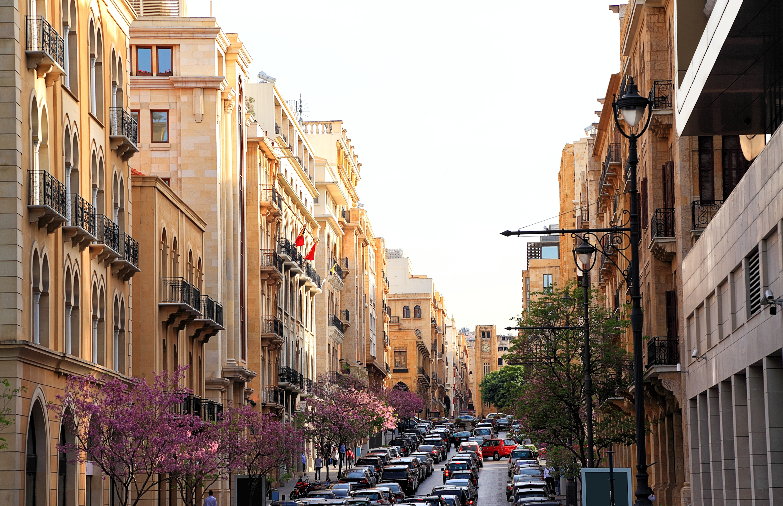 Parts of Beirut built by the French -- giving the city the moniker 'Paris of the East' -- have been restored to their original glory, post the civil war