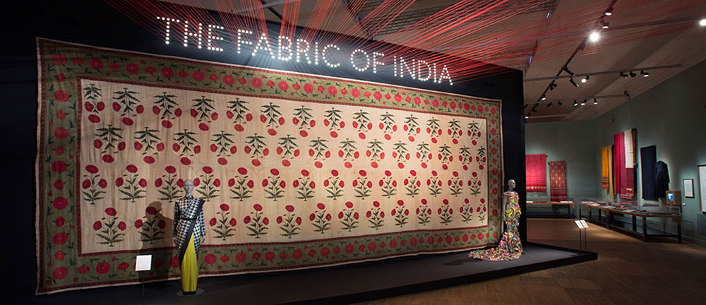 The Fabric of India exhibition at the Victoria & Albert Museum