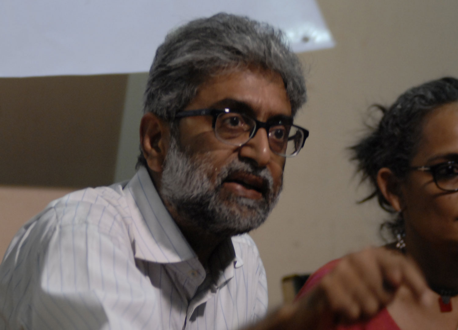 Activist Gautam Navlakha had moved the Supreme Court which granted him interim protection from arrest and said he could seek anticipatory bail from the local court.