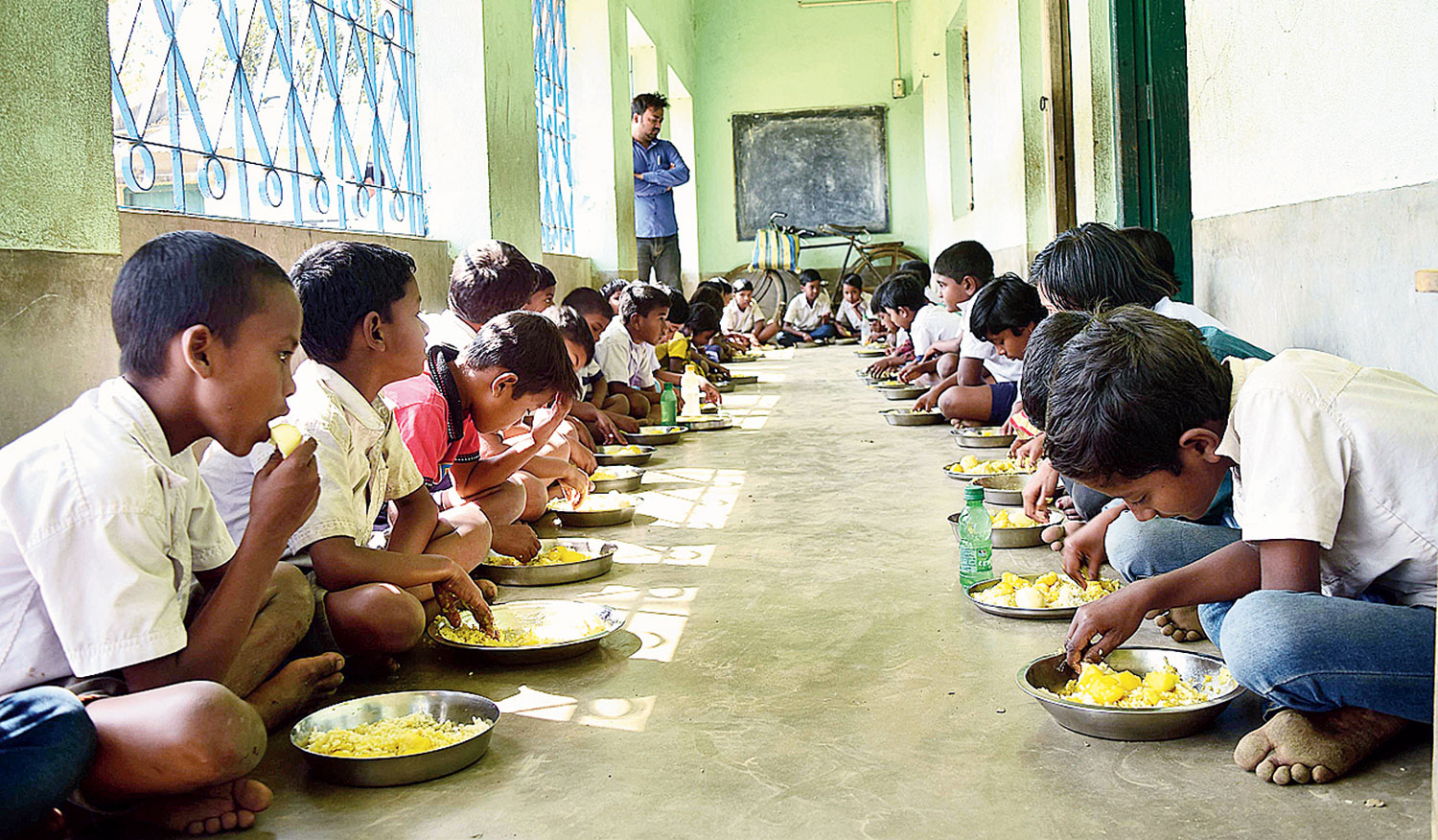 Students will grow vegetables for their midday meals in Bihar