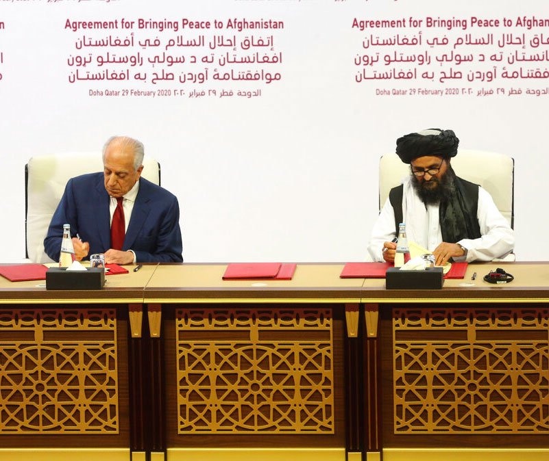 US, Taliban sign troop pullout deal in Doha