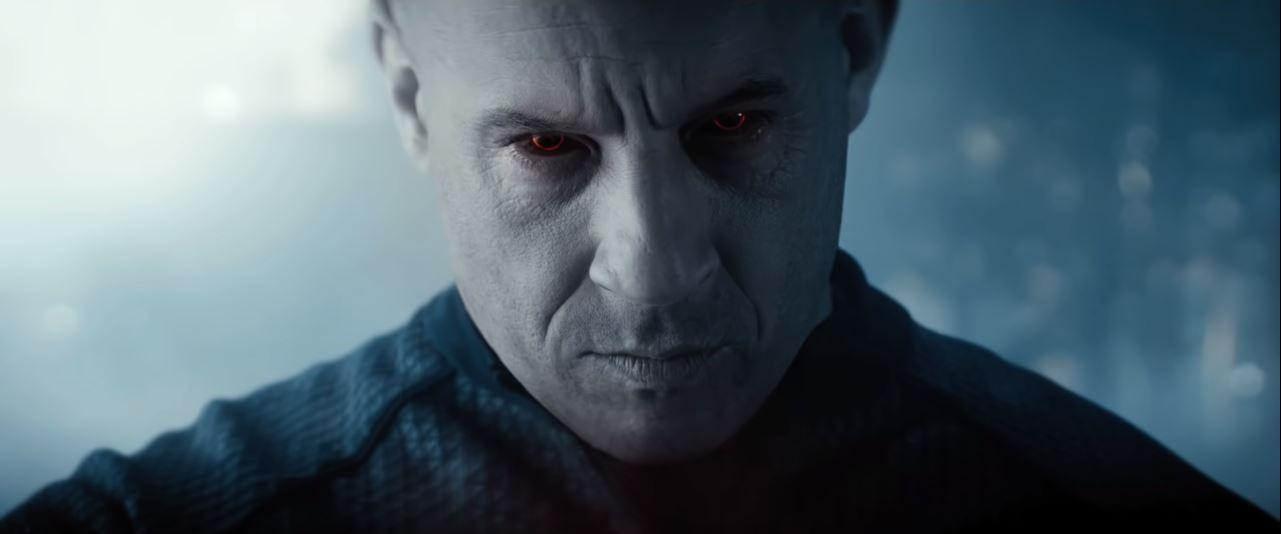 Vin Diesel in a still from Bloodshot
