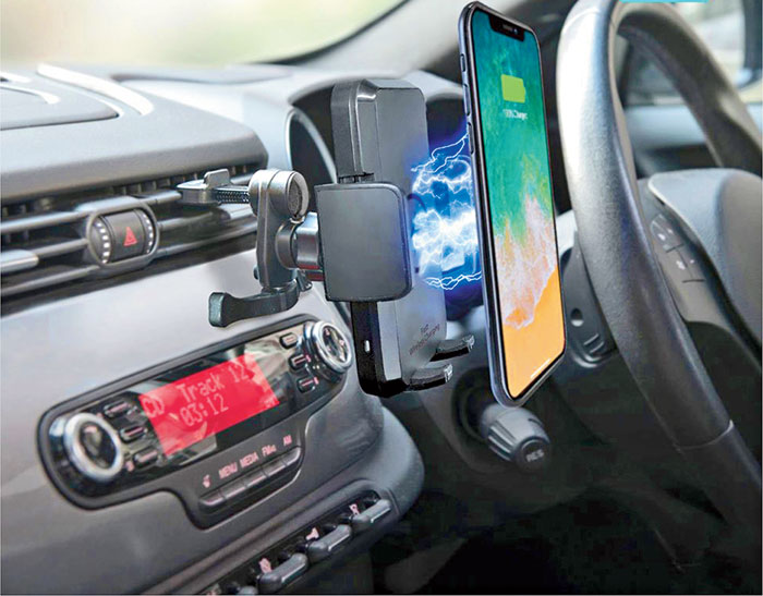 Pebble Grip Wireless Car Mount