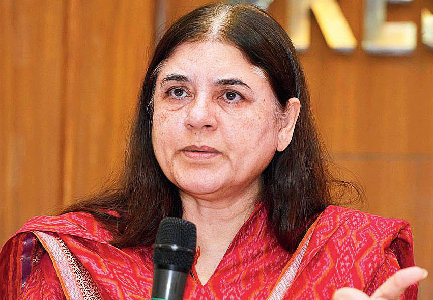 Maneka promises harass panel after #MeToo, BJP ducks