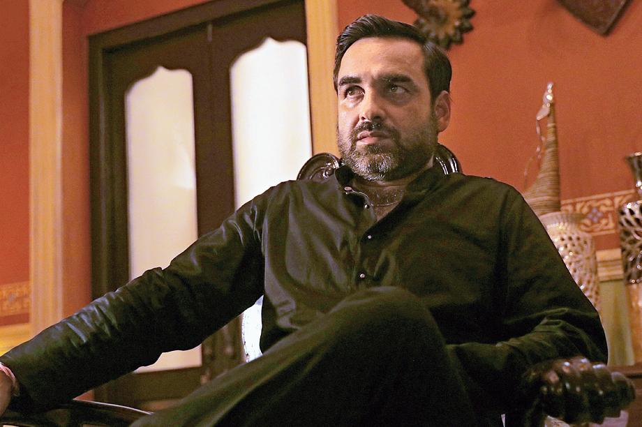 Pankaj Tripathi as gangster Kaaleen Bhaiya turns in a solid act