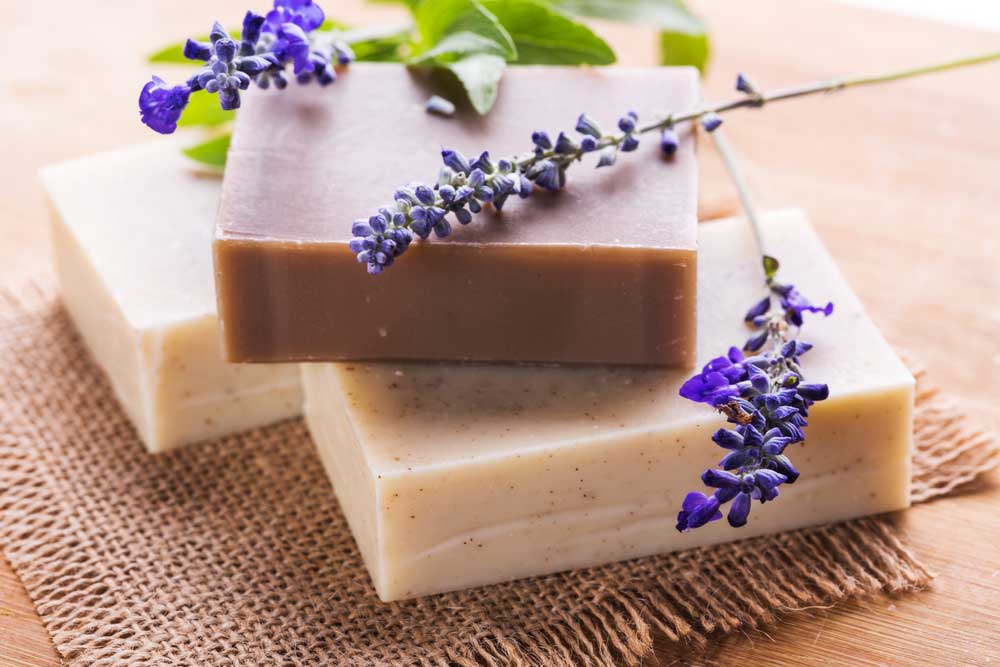 Soap actually goes back to very old times. It is said that the first soap was made by the Babylonians around 2800 B.C.