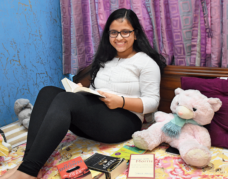 Aratrika Pal at her Greenwood Sonata home near City Centre 2.