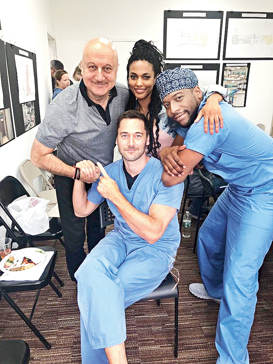 Script's in English, has medical terms: Anupam Kher is newcomer on New Amsterdam