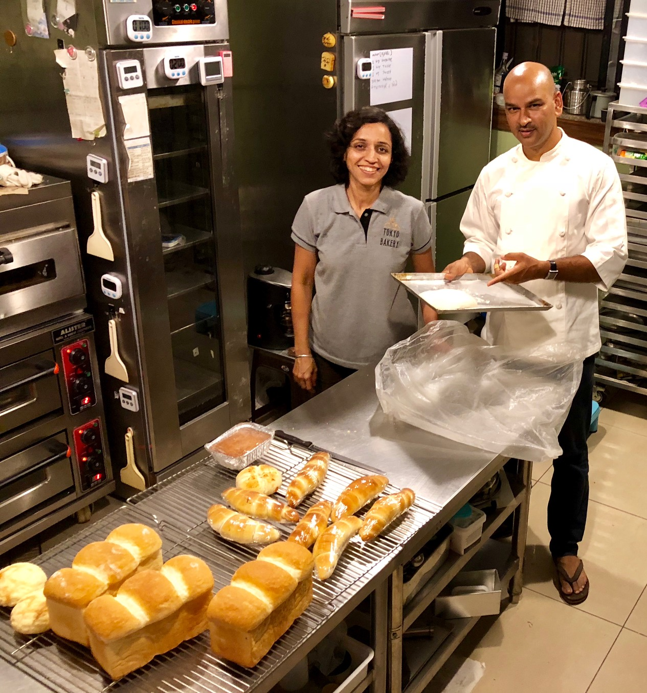 Rahul returned from Japan to Pune with extensive notes for baking the inimitable Japanese bread and shared what he had learned with Arundhati. Their first attempt was a failure