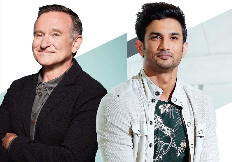 The deaths of Robin Williams and Sushant Singh Rajput were subject to unnecessary scrutiny