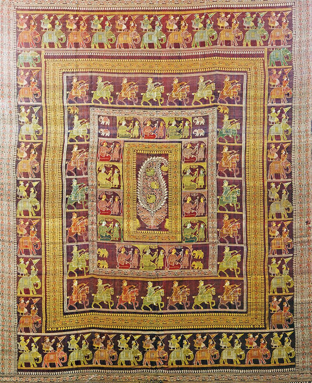 History in silk
