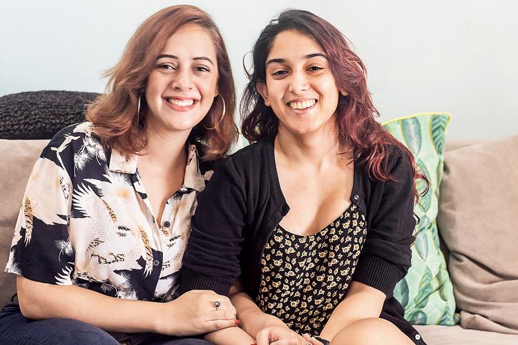 Hazel Keech (left) and Ira Khan