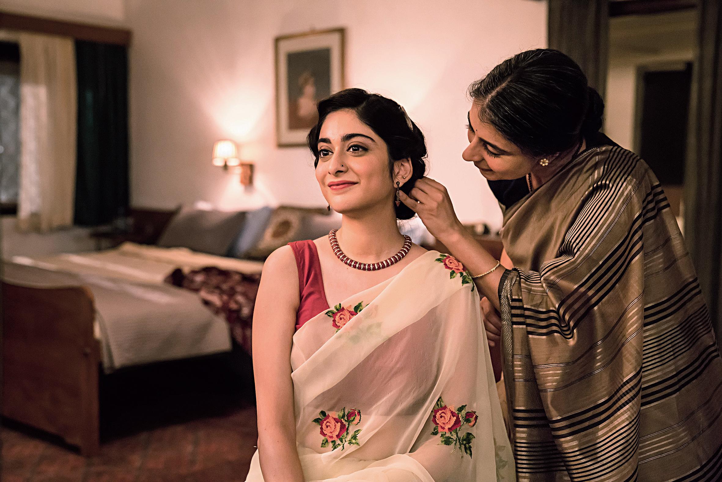 Tanya Maniktala as Lata in Mira Nair's BBC One adaptation of 'A Suitable Boy'.