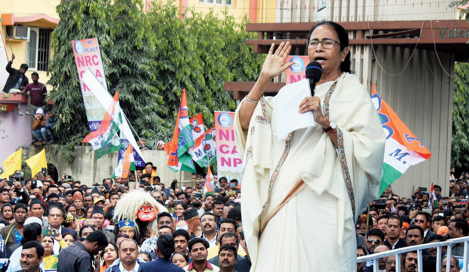 The Trinamul Congress dispensation has already started an initiative to give freehold rights to plots to the residents of 94 refugee colonies set up on state government land.