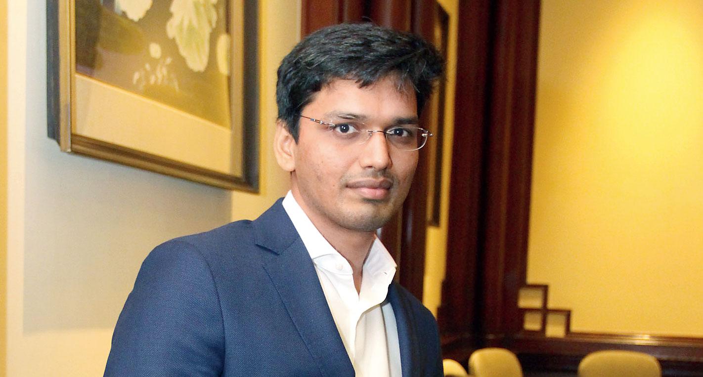 Chess grandmaster Pentala Harikrishna