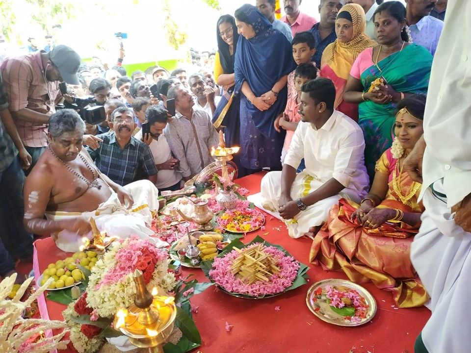 Kerala chief minister Pinarayi Vijayan took to Facebook to congragulate the young couple and said the state has always upheld and showcased such beautiful examples of religious harmony.