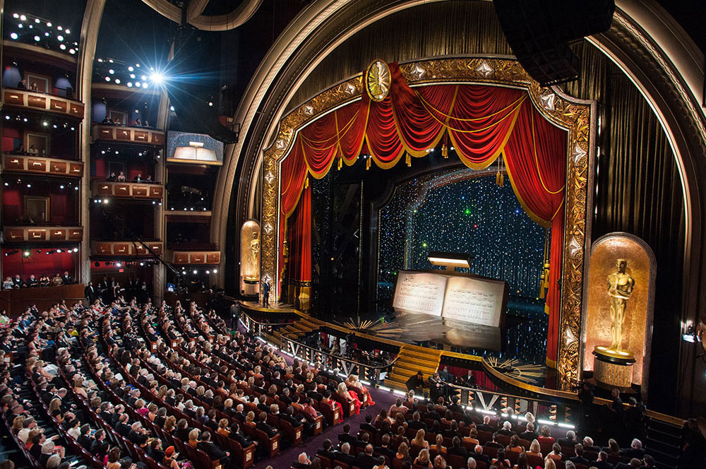 Where all the drama will happen: Dolby Theatre