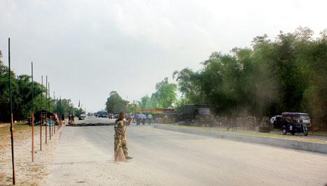 Attari march replay on Bangla border