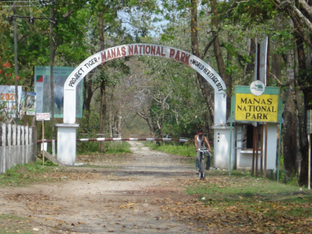 """Bhattacharjee pointed out a unique example when tribal people in """"Bodoland"""" areas of Assam provided 300 sq km of land for expansion of Manas National Park"""