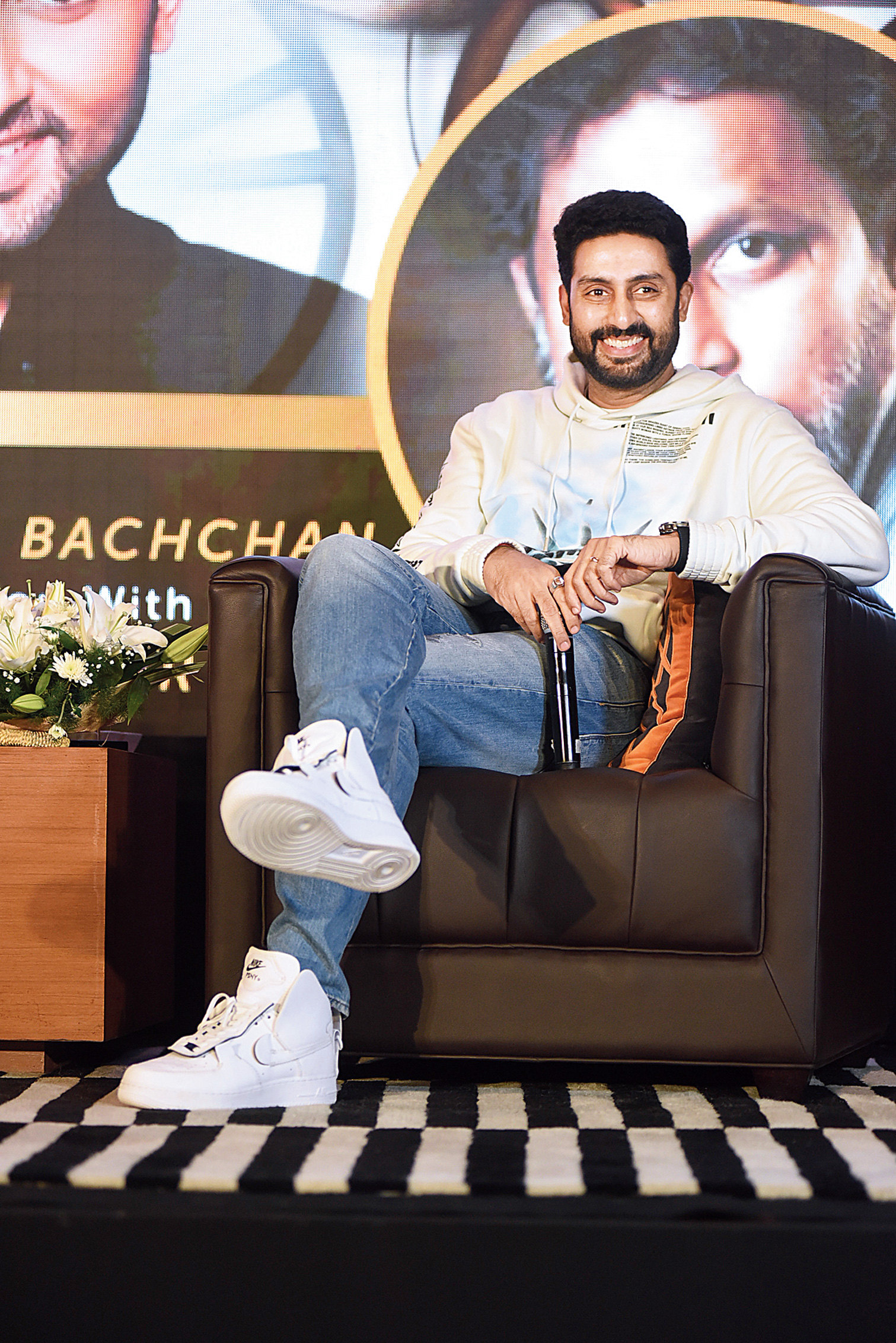 Abhishek Bachchan at the Ladies Study Group session in AltAir.