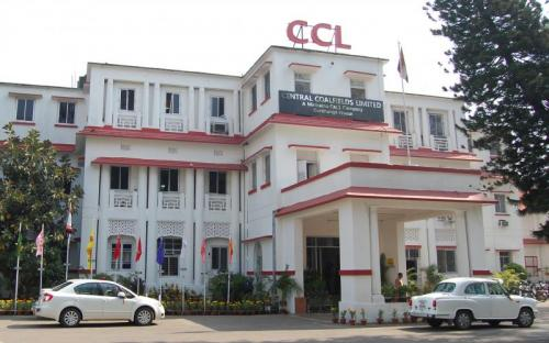 A view of headquarters of Central Coalfields Limited in Ranchi
