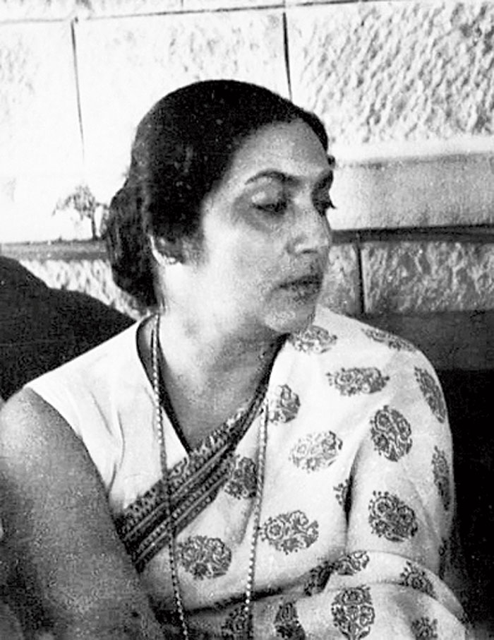 Manobina Roy, clicked by husband and filmmaker Bimal Roy