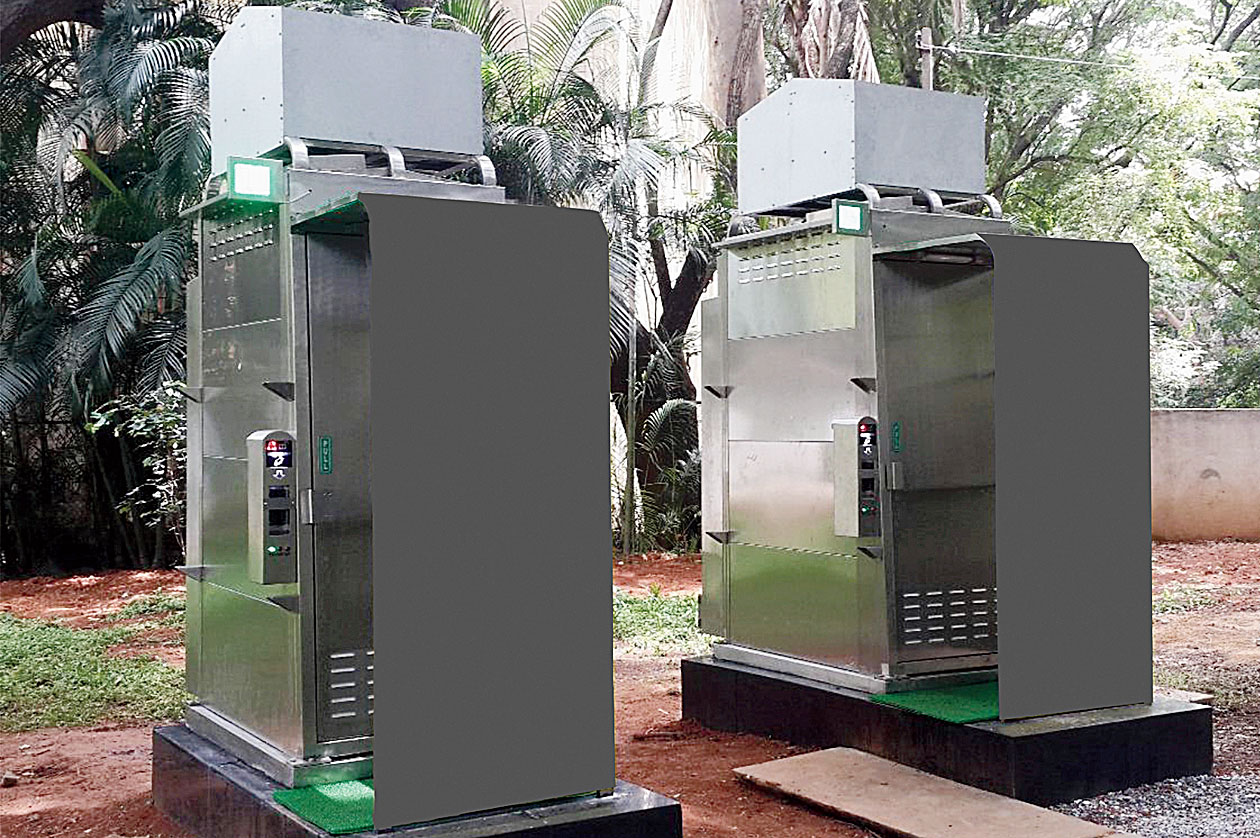 Modular toilets