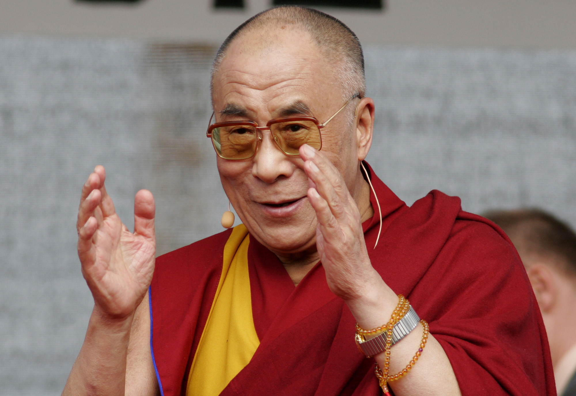 The people of India have offered the Dalai Lama love and respect; and these he has given back abundantly in return.