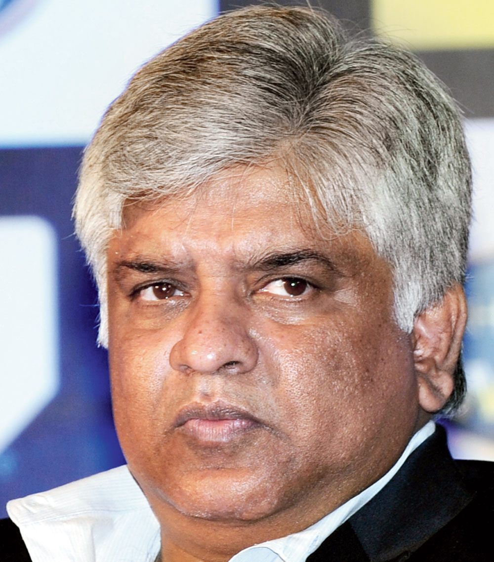 Arjuna Ranatunga, former captain of Sri Lanka's cricket team and the country's current petroleum minister