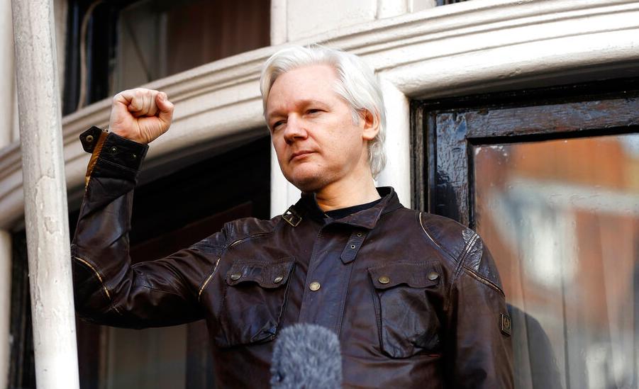 WikiLeaks' Julian Assange arrested at Ecuador embassy in London